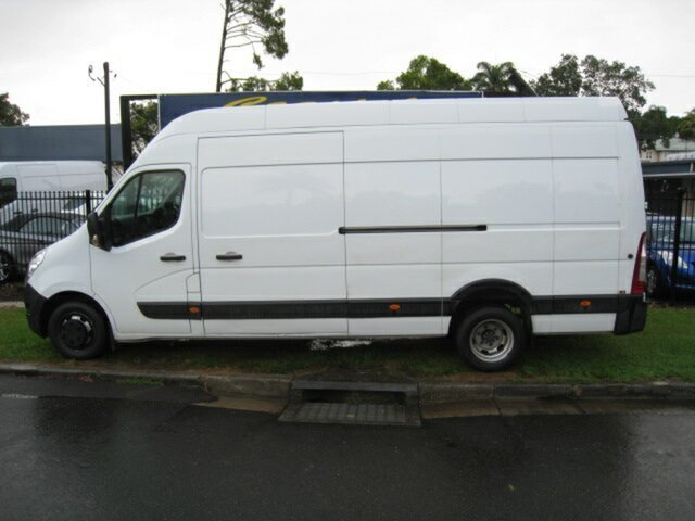 Used Renault Master X62 MY15 (nbi) Elwb High Nambour, 2016 Renault Master X62 MY15 (nbi) Elwb High White 6 Speed Automated Manual Van