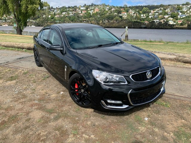 Used Holden Commodore VF II MY16 SS V Redline Launceston, 2016 Holden Commodore VF II MY16 SS V Redline Black 6 Speed Manual Sedan