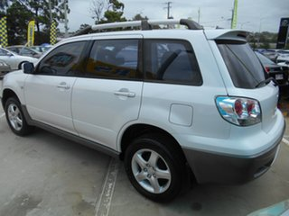 2003 Mitsubishi Outlander ZE XLS White 4 Speed Sports Automatic Wagon