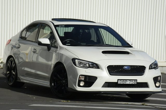 Used Subaru WRX V1 MY16 Premium AWD Wollongong, 2015 Subaru WRX V1 MY16 Premium AWD White 6 Speed Manual Sedan