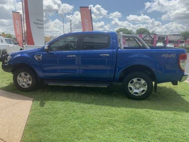 Used Ford Ranger PX MkII MY17 XLT 3.2 (4x4) Emerald, 2017 Ford Ranger PX MkII MY17 XLT 3.2 (4x4) Blue 6 Speed Manual Double Cab Pick Up