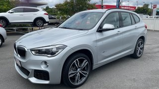 2017 BMW X1 F48 xDrive25i Steptronic AWD Silver 8 Speed Sports Automatic Wagon.