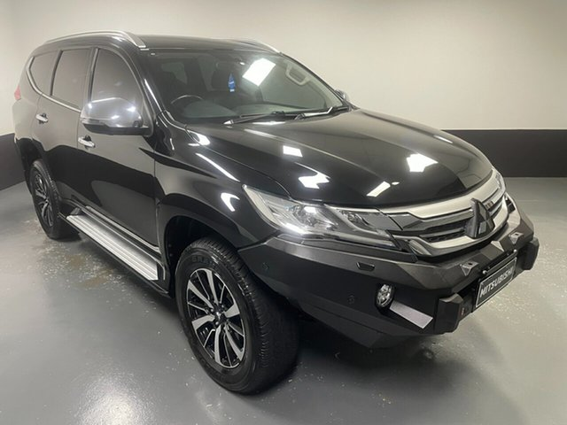 Used Mitsubishi Pajero Sport QE MY16 Exceed Cardiff, 2016 Mitsubishi Pajero Sport QE MY16 Exceed Black 8 Speed Sports Automatic Wagon