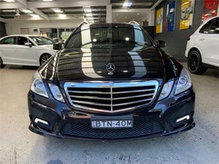 2010 Mercedes-Benz E-Class W212 E350 Avantgarde Black Sports Automatic Wagon.