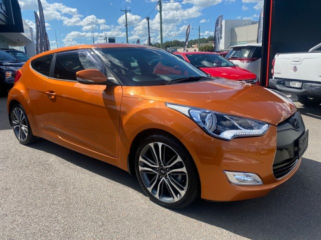 Used Hyundai Veloster FS4 Series II Coupe Cardiff, 2015 Hyundai Veloster FS4 Series II Coupe Tiger 6 Speed Manual Hatchback