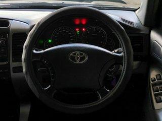 2009 Toyota Landcruiser Prado KDJ120R GXL Black 5 Speed Automatic Wagon
