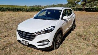 2015 Hyundai Tucson TL Active X 2WD Pure White 6 Speed Sports Automatic Wagon