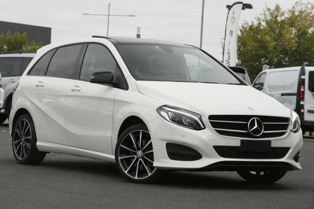 Used Mercedes-Benz B-Class W246 807MY B200 DCT Essendon North, 2016 Mercedes-Benz B-Class W246 807MY B200 DCT Cirrus White 7 Speed Sports Automatic Dual Clutch