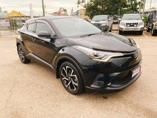 2017 Toyota C-HR NGX10R Koba S-CVT 2WD Black 7 Speed Constant Variable Wagon.