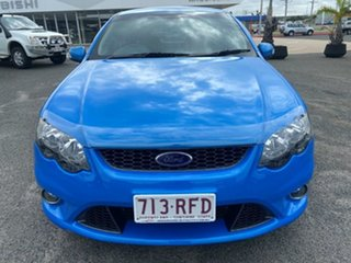 2010 Ford Falcon FG XR6 Turbo 50th Anniversary Blue 6 Speed Manual Sedan
