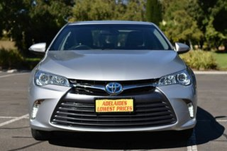 2017 Toyota Camry AVV50R Altise Silver 1 Speed Constant Variable Sedan Hybrid.