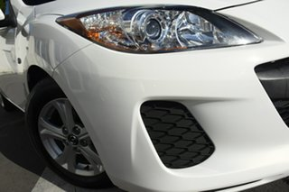 2012 Mazda 3 BL10F2 MY13 Neo Activematic Crystal White 5 Speed Sports Automatic Hatchback.