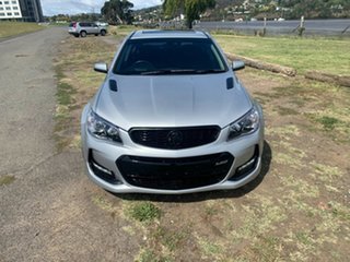 2016 Holden Commodore VF II MY16 SS V Redline Silver 6 Speed Manual Sedan.