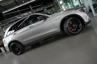 2019 Mercedes-Benz GLC-Class X253 800MY GLC63 AMG SPEEDSHIFT MCT 4MATIC+ S Silver 9 Speed.