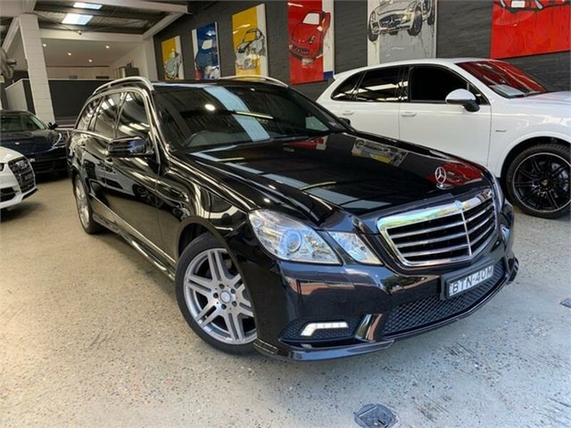 Used Mercedes-Benz E-Class W212 E350 Avantgarde Glebe, 2010 Mercedes-Benz E-Class W212 E350 Avantgarde Black Sports Automatic Wagon