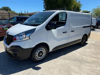 2017 Renault Trafic X82 85kW Low Roof SWB White 6 Speed Manual Van