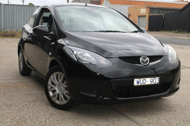 Used Mazda 2 DE Neo West Footscray, 2008 Mazda 2 DE Neo 5 Speed Manual Hatchback