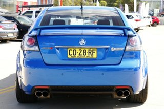 2011 Holden Commodore VE II SS V Redline Blue 6 Speed Manual Sedan