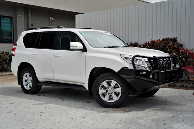 Used Toyota Landcruiser Prado GDJ150R GXL Cairns, 2016 Toyota Landcruiser Prado GDJ150R GXL White 6 Speed Sports Automatic Wagon
