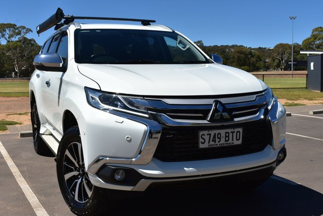 Used Mitsubishi Pajero Sport QE MY17 Exceed St Marys, 2017 Mitsubishi Pajero Sport QE MY17 Exceed White 8 Speed Sports Automatic Wagon