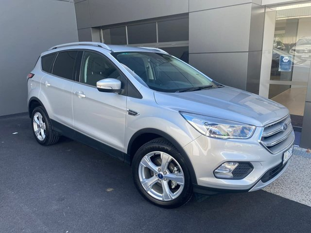 Used Ford Escape ZG 2019.75MY Trend Hobart, 2019 Ford Escape ZG 2019.75MY Trend Silver 6 Speed Sports Automatic SUV