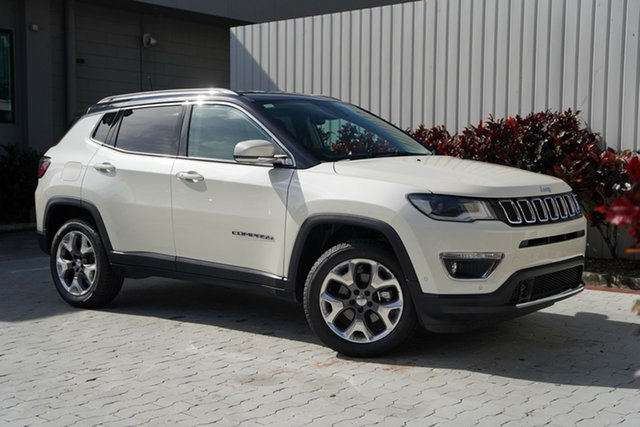 New Jeep Compass M6 MY20 Limited Cairns, 2020 Jeep Compass M6 MY20 Limited Vocal White 9 Speed Automatic Wagon
