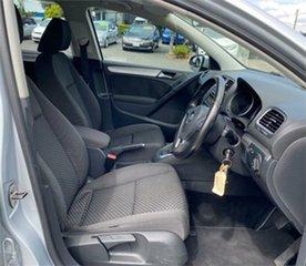 2010 Volkswagen Golf VI 103TDI Comfortline Silver 6 Speed Sports Automatic Dual Clutch Hatchback