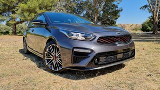 2021 Kia Cerato BD MY21 GT DCT Platinum Graphite 7 Speed Manual Hatchback.