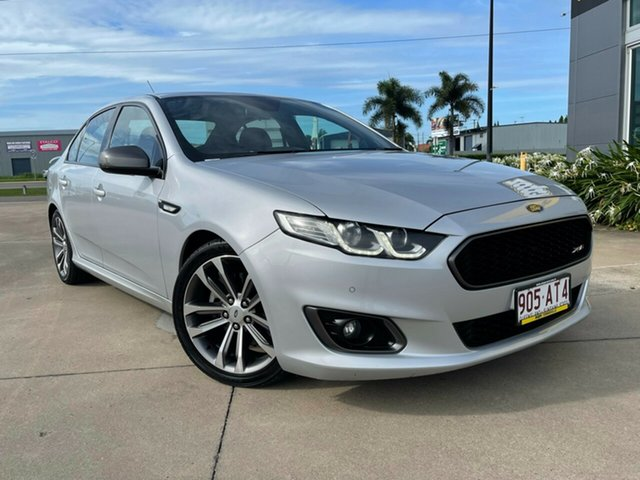 Used Ford Falcon FG X XR6 Turbo Townsville, 2015 Ford Falcon FG X XR6 Turbo Silver/220116 6 Speed Sports Automatic Sedan