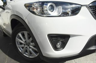 2012 Mazda CX-5 KE1021 Maxx SKYACTIV-Drive AWD Sport White Pera 6 Speed Sports Automatic Wagon.
