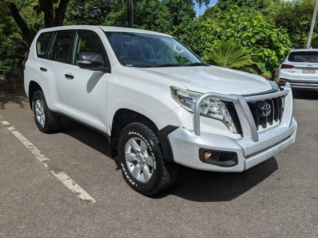Used Toyota Landcruiser Prado KDJ150R MY14 GX Stuart Park, 2014 Toyota Landcruiser Prado KDJ150R MY14 GX White 6 Speed Manual Wagon
