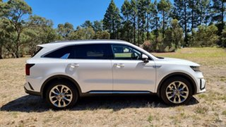 2020 Kia Sorento MQ4 MY21 GT-Line AWD Snow White Pearl 8 Speed Automatic Wagon
