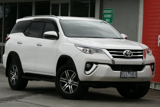 Pre-Owned Toyota Fortuner Glen Waverley, Fortuner GXL 2.8L T Diesel Automatic Wagon