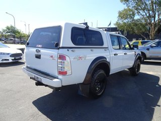 2009 Ford Ranger PK XL Crew Cab Alabaster White 5 Speed Manual Utility