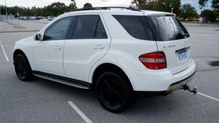 2006 Mercedes-Benz M-Class W164 ML280 CDI White 7 Speed Sports Automatic Wagon