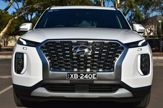2020 Hyundai Palisade LX2.V1 MY21 Highlander 2WD White Cream 8 Speed Sports Automatic Wagon
