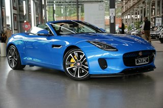 2017 Jaguar F-TYPE X152 MY18.5 Convertible Blue 8 Speed Sports Automatic Convertible.