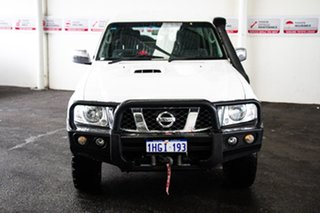 2016 Nissan Patrol GU Series 10 ST (4x4) White 5 Speed Manual Wagon.