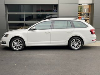 2019 Skoda Octavia NE MY20 110TSI DSG White 7 Speed Sports Automatic Dual Clutch Wagon