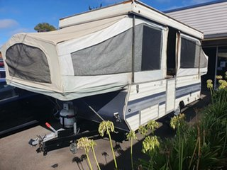 1985 Jayco Outback Swan Pop Top.