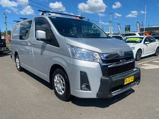 2020 Toyota HiAce GDH300R LWB Silver 6 Speed Sports Automatic Van.