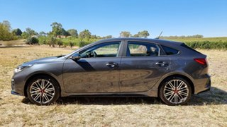 2021 Kia Cerato BD MY21 GT DCT Platinum Graphite 7 Speed Manual Hatchback
