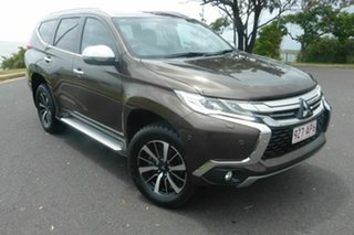 2016 Mitsubishi Pajero Sport QE MY16 Exceed Brown 8 Speed Sports Automatic Wagon.