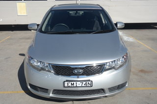 2012 Kia Cerato TD MY12 SI Silver 6 Speed Sports Automatic Sedan.