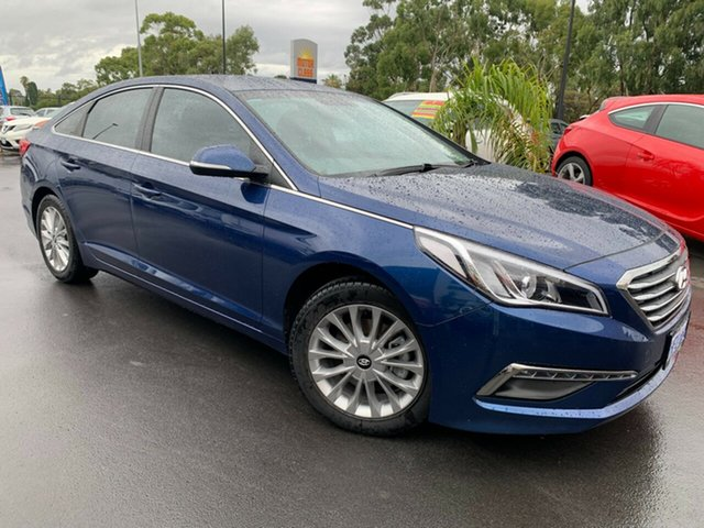 Used Hyundai Sonata LF3 MY17 Active Bunbury, 2016 Hyundai Sonata LF3 MY17 Active Blue 6 Speed Sports Automatic Sedan