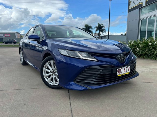 Used Toyota Camry ASV70R Ascent Sport Townsville, 2019 Toyota Camry ASV70R Ascent Sport Blue/120619 6 Speed Sports Automatic Sedan