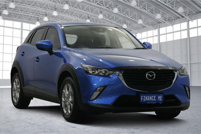 Used Mazda CX-3 DK2W76 Maxx SKYACTIV-MT Victoria Park, 2017 Mazda CX-3 DK2W76 Maxx SKYACTIV-MT Blue 6 Speed Manual Wagon