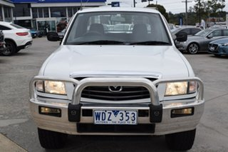 2006 Mazda Bravo B2500 DX Freestyle White/clo5 5 Speed Manual Cab Chassis.