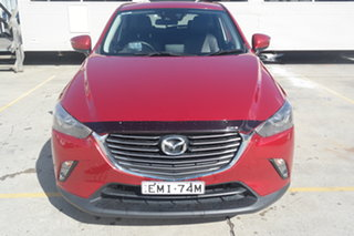 2015 Mazda CX-3 DK2W7A Akari SKYACTIV-Drive Red 6 Speed Sports Automatic Wagon.