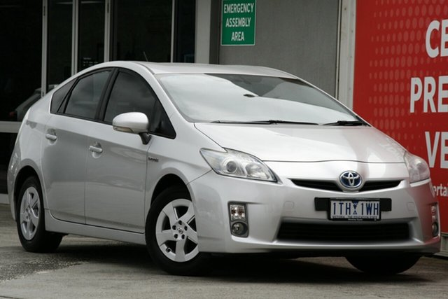 Pre-Owned Toyota Prius Glen Waverley, Prius Base 1.8L P Hybrid Automatic 5 Door Hatch